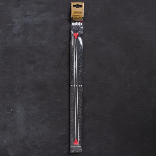 Addi Kalpli 2mm 35cm Klasik Alüminyum Örgü Şişi - 200-7