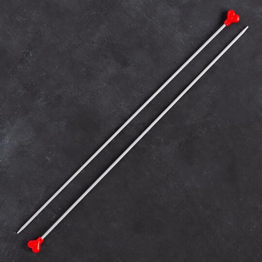 Addi Kalpli 3mm 35cm Klasik Alüminyum Örgü Şişi - 200-7