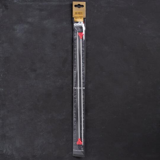 Addi Kalpli 3,25mm 35cm Klasik Alüminyum Örgü Şişi - 200-7