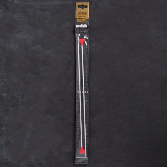 Addi Kalpli 3,5mm 35cm Klasik Alüminyum Örgü Şişi - 200-7