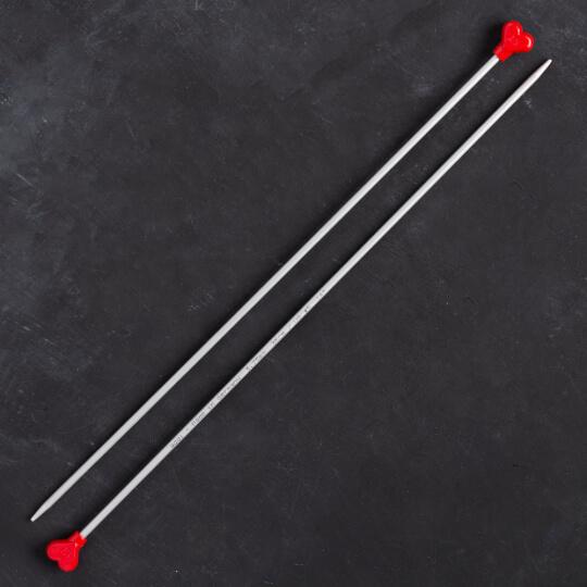 Addi Kalpli 3,75mm 35cm Klasik Alüminyum Örgü Şişi - 200-7