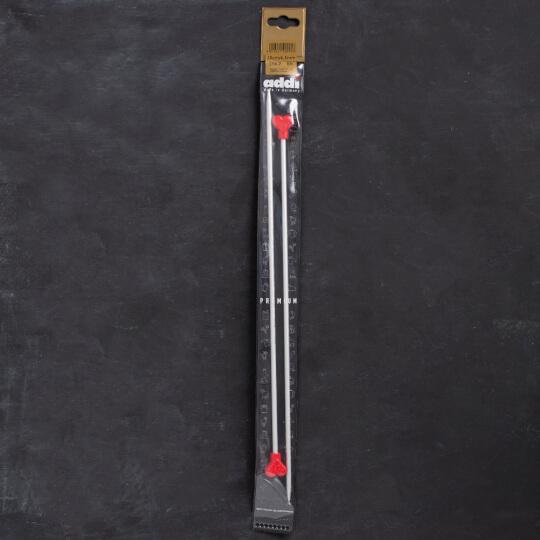 Addi Kalpli 4,5mm 35cm Klasik Alüminyum Örgü Şişi - 200-7