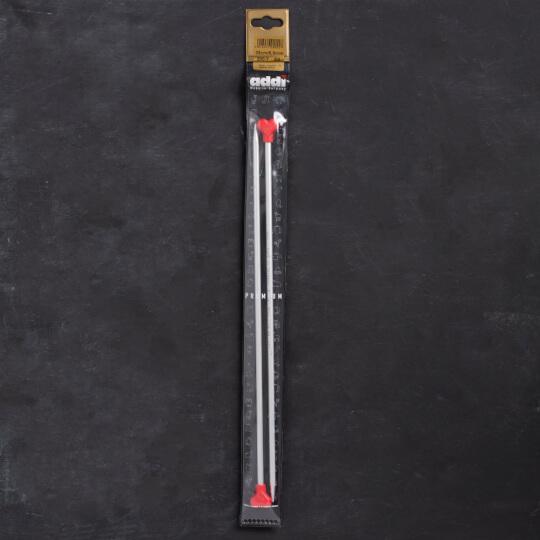 Addi Kalpli 5,5mm 35cm Klasik Alüminyum Örgü Şişi - 200-7
