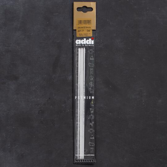 Addi 2mm 20cm 5'li Çorap Şişi - 201-7