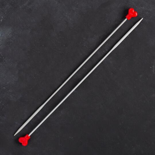 Addi 4,5mm 35cm Klasik Alüminyum Hızlı Örgü Şişi - 210-7