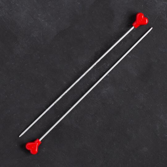 Addi Kalpli 2mm 20cm Klasik Alüminyum Örgü Şişi - 2007
