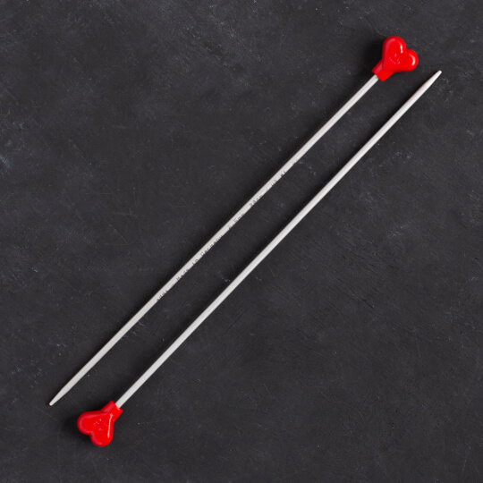 Addi Kalpli 2,5mm 20cm Klasik Alüminyum Örgü Şişi - 200-7