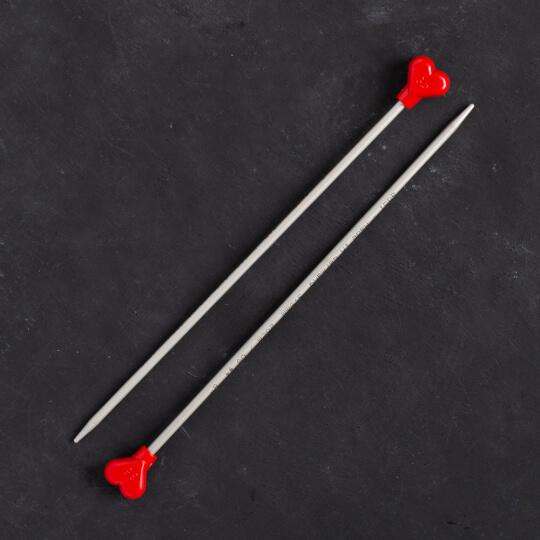 Addi Kalpli 3,5mm 20cm Klasik Alüminyum Örgü Şişi - 200-7