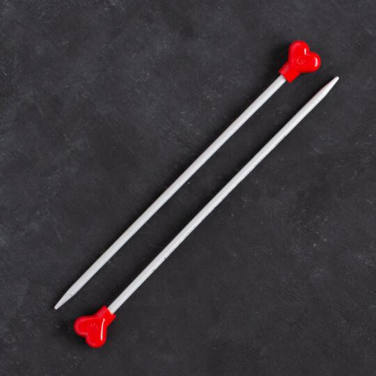 Addi Kalpli 4,5mm 20cm Klasik Alüminyum Örgü Şişi - 200-7