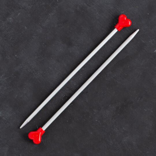Addi Kalpli 5mm 20cm Klasik Alüminyum Örgü Şişi - 200-7