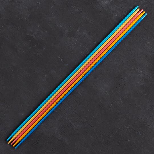 Addi Colibri 2,25mm 15cm Renkli Çorap Şişi - 204-7