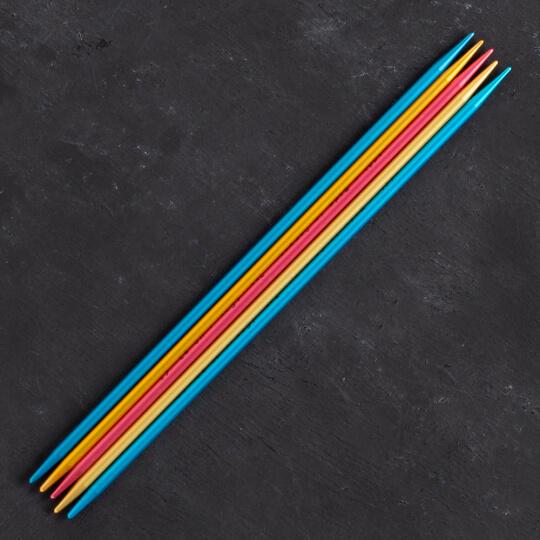 Addi Colibri 3mm 15cm Renkli Çorap Şişi - 204-7