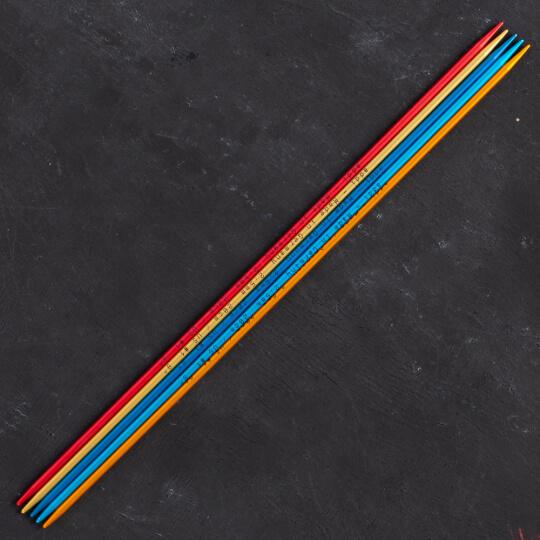 Addi Colibri 2,5mm 20cm Renkli Çorap Şişi - 204-7
