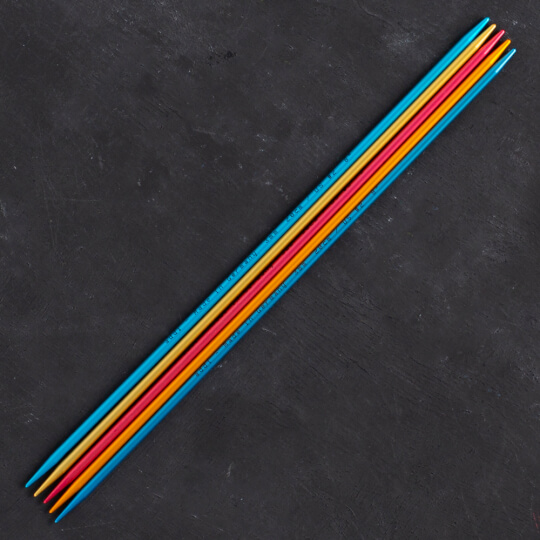 Addi Colibri 3mm 20cm Renkli Çorap Şişi - 204-7