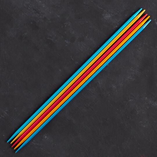 Addi Colibri 3,5mm 20cm Renkli Çorap Şişi - 204-7