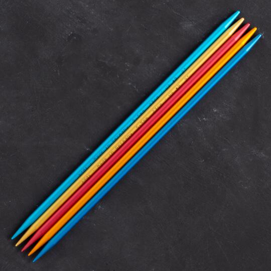 Addi Colibri 5,5mm 23cm Renkli Çorap Şişi - 204-7