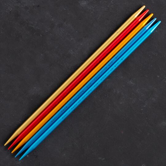 Addi Colibri 6mm 23cm Renkli Çorap Şişi - 204-7