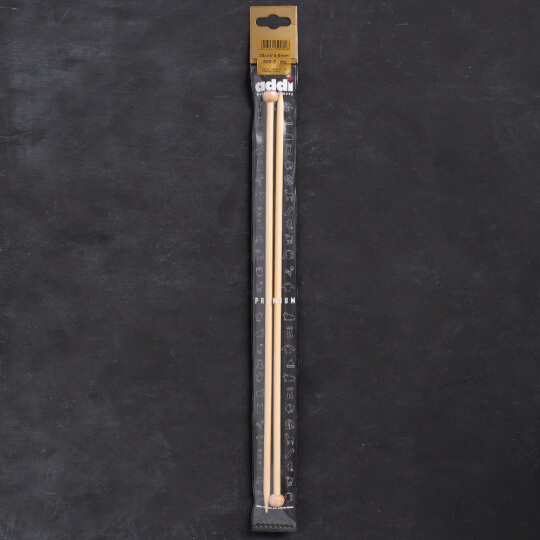 Addi Bambus 5,5mm 35cm Bambu Örgü Şişi - 500-7