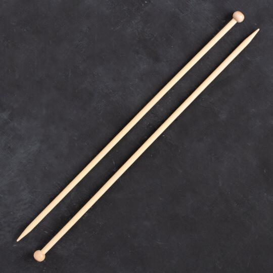 Addi Bambus 6mm 35cm Bambu Örgü Şişi - 500-7