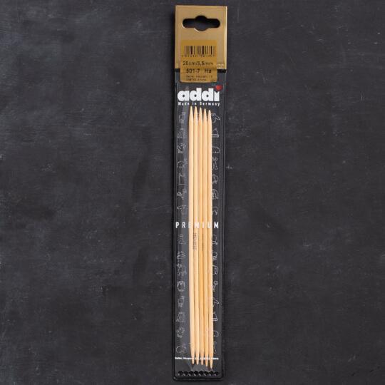 Addi Bambus 3,5mm 20cm Bambu Çorap Şişi - 501-7