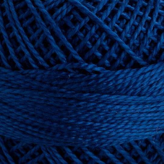 Domino Koton Perle 8gr Koyu Mavi No:8 Nakış İpliği - 4598008-00149