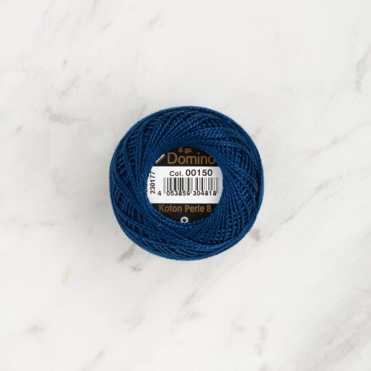 Domino Koton Perle 8gr Koyu Mavi No:8 Nakış İpliği - 4598008-00150