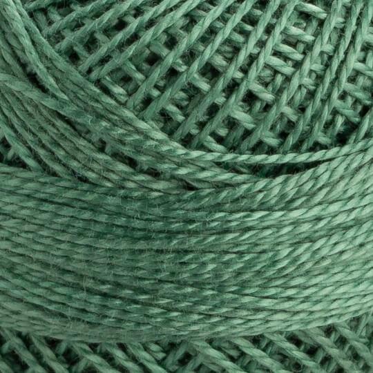 Domino Koton Perle 8gr Yeşil No:8 Nakış İpliği - 4598008-00216