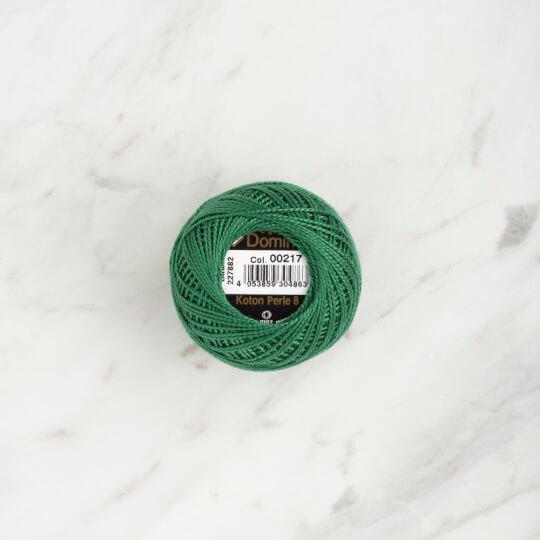 Domino Koton Perle 8gr Yeşil No:8 Nakış İpliği - 4598008-00217