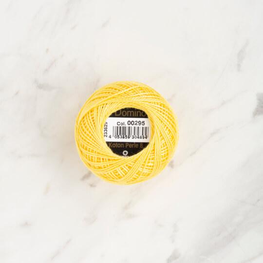 Domino Koton Perle 8gr Sarı No:8 Nakış İpliği - 4598008-00295