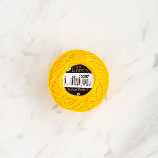 Domino Koton Perle 8gr Sarı No:8 Nakış İpliği - 4598008-00297