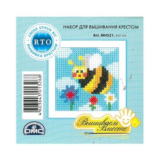 RTO Baltic 5 x 5 cm Başlangıç Seviye Arı Desenli Etamin Kiti - MH 521