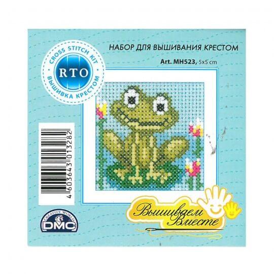 RTO Baltic 5 x 5 cm Başlangıç Seviye Kurbağa Desenli Etamin Kiti - MH 523