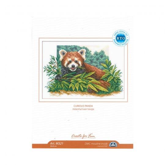 RTO Baltic 33 x 35 cm Meraklı Panda Desenli Etamin Kiti - M321