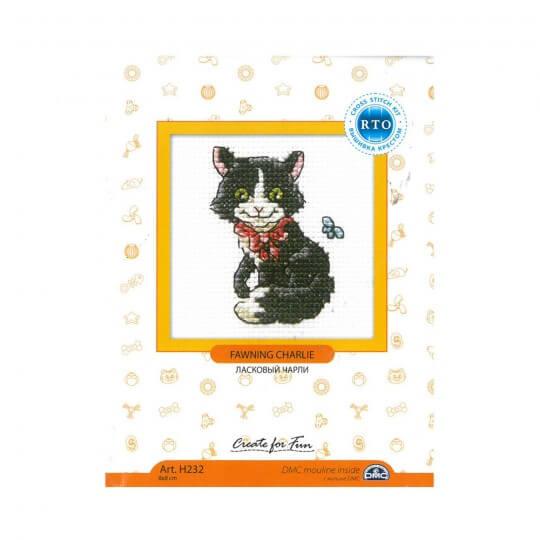 RTO Baltic 8 x 8 cm Tasmalı Kedi Desenli Etamin Kiti - H232