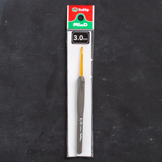 Tulip Etimo 3 mm 14 cm Kahverengi Yumuşak Saplı Yün Tığ - T15-500e