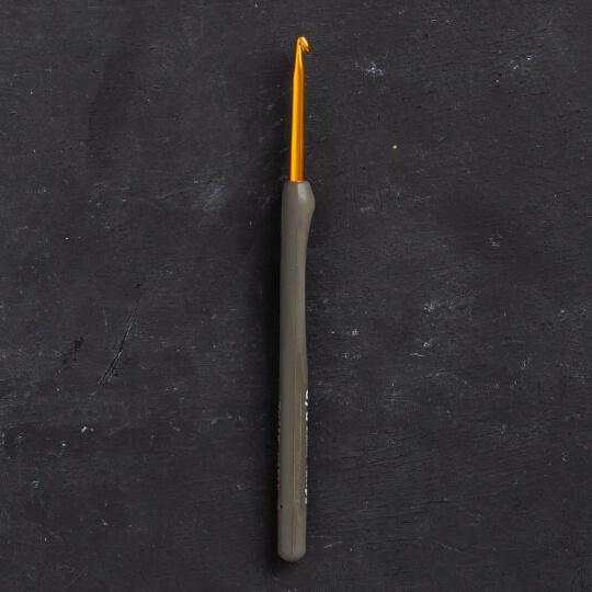 Tulip Etimo 3,5 mm 14 cm Kahverengi Yumuşak Saplı Yün Tığ - T15-600e