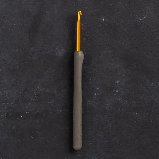 Tulip Etimo 4 mm 14 cm Kahverengi Yumuşak Saplı Yün Tığ - T15-700e