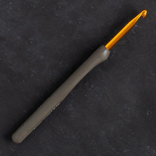 Tulip Etimo 5 mm 14 cm Kahverengi Yumuşak Saplı Yün Tığ - T15-800e