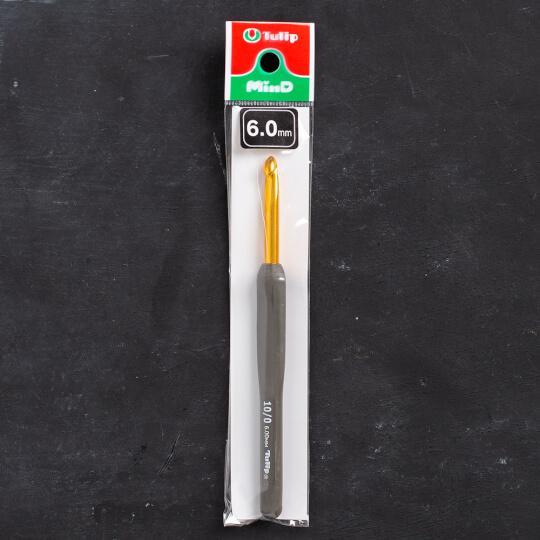 Tulip Etimo 6 mm 14 cm Kahverengi Yumuşak Saplı Yün Tığ - T15-100e