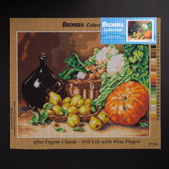 ORCHİDEA 40 x 50 cm  Meyve ve Sebze Baskılı Goblen 2775M