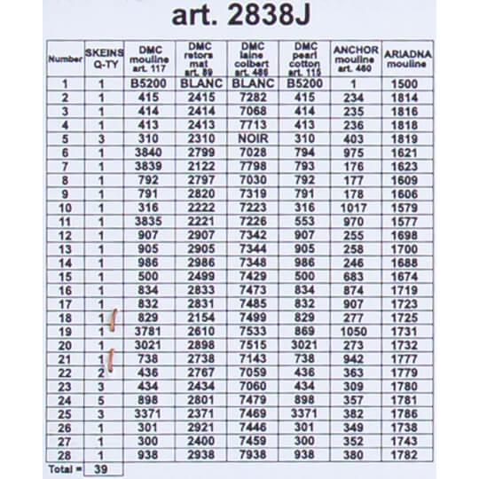 ORCHİDEA 30 x 40 cm Erikler Baskılı Goblen 2838J