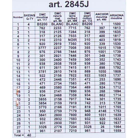 ORCHİDEA 30 x 40 cm Eski Köprü Baskılı Goblen 2845J