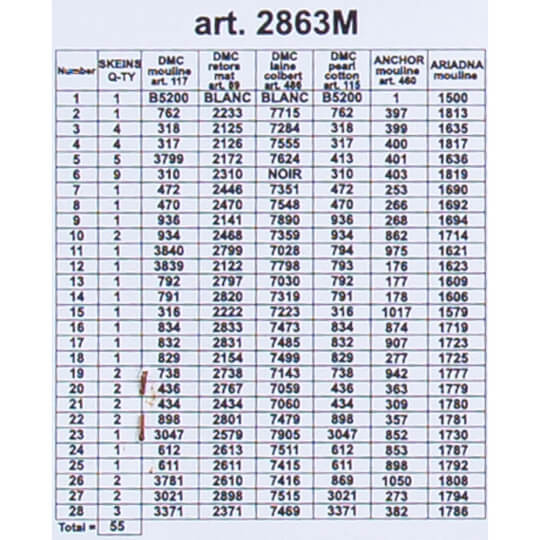 ORCHİDEA 40 x 50 cm  Erikler Baskılı Goblen 2863M