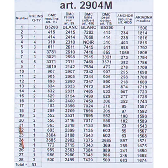 ORCHİDEA 40 x 50 cm  Renkli Çiçekler Baskılı Goblen 2904M