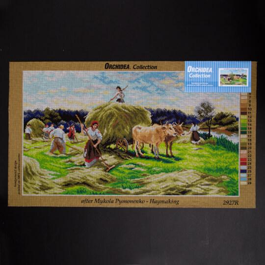 ORCHİDEA 40 x 70 cm Çiftlik Hayatı Baskılı Goblen 2927R