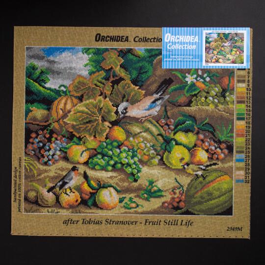 ORCHİDEA 40 x 50 cm Doğadaki Meyveler Baskılı Goblen 2949M