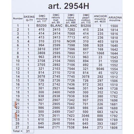 ORCHİDEA 24 x 30 cm Çiçekler Baskılı Goblen 2954H