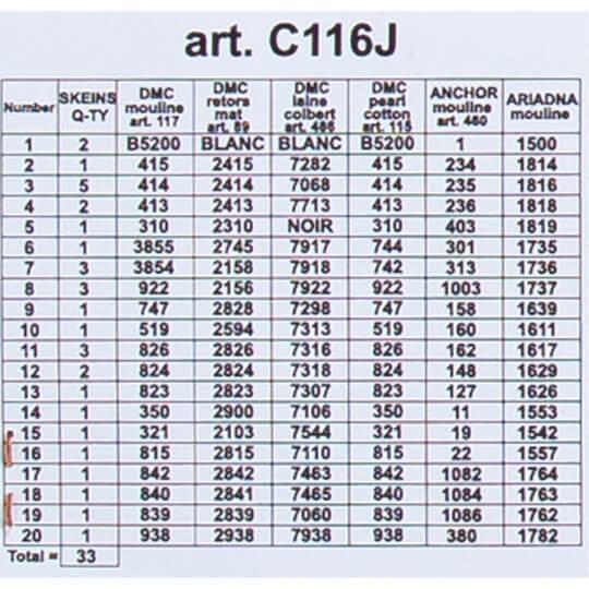 ORCHİDEA 30 x 40 cm Deniz Feneri Baskılı Goblen C116J