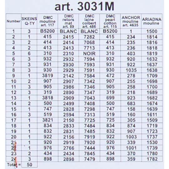 ORCHİDEA 40 x 50 cm Dağdaki Değirmenli Ev Baskılı Goblen 3031M