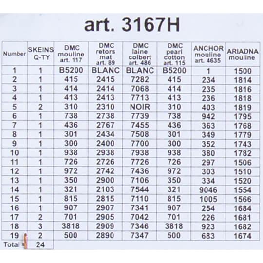 ORCHİDEA 24 x 30 cm Beklenen Yılbaşı Baskılı Goblen 3167H